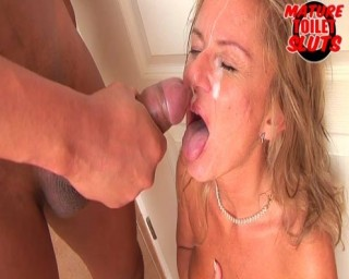 fucking hell! eat my cum bitch!