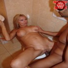 fuck that mature slut silly on the toilet