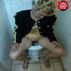 Such great delight after taking a tinkle