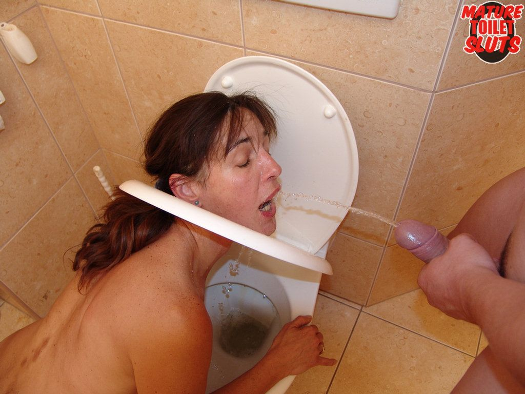 Mature toilet sluts brilliant